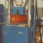 Photo 5-2 Compression test on fender