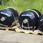 Subsea Fender with steel axle