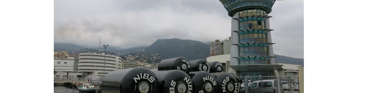 Nibs France, supplier of marine fender for Bastia harbor